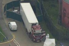 4 Fakta penemuan 39 mayat dalam truk pendingin di Inggris