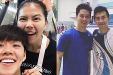 11 Potret persahabatan pemain badminton lintas negara