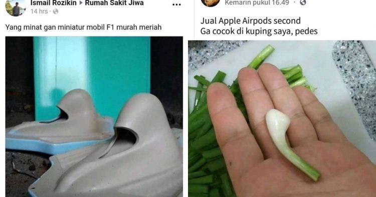 10 Iklan jual beli di grup Facebook ini bikin tepuk jidat