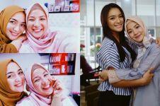 11 Potret kompak Citra Kirana & Natasha Rizky, sahabat sejak SMA