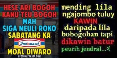 40 Kata Kata Lucu Bahasa Sunda Dan Artinya
