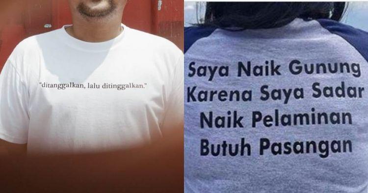 quotes di kaus oblong ini endingnya bikin ngenes