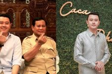 9 Momen lamaran sespri Prabowo, paras calon istri curi perhatian