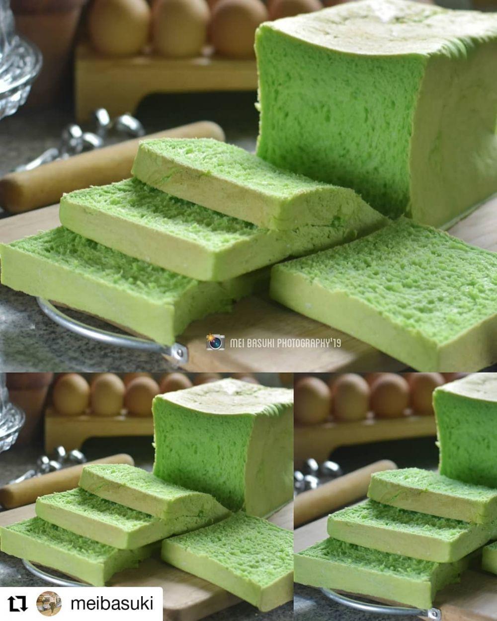 12 Cara membuat roti tawar Instagram/@doyancake2