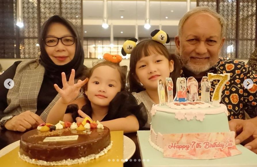 ulang tahun Elea ketujuh sederhana © 2019 berbagai sumber