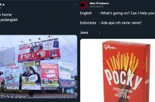 10 Pelesetan bahasa Jawa dengan benda sehari-hari, kocak pol