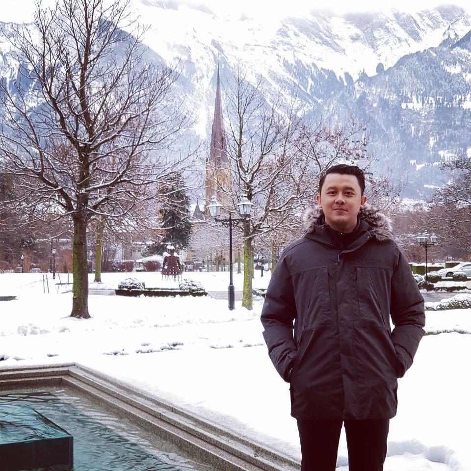 Ridwan Dhani gaya sehari  Instagram