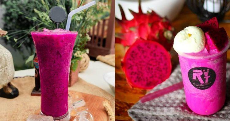 12 Cara membuat jus buah naga merah, enak dan segar