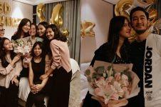 8 Momen kejutan ulang tahun Syahnaz Sadiqah, meriah abis