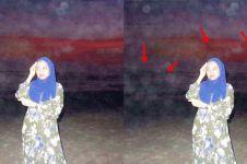 7 Editan foto penampakan di Parangtritis ini bikin gagal serem