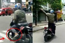 Pernah viral, 6 aksi pemotor ini bikin geleng-geleng kepala