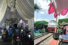 10 Potret resepsi pernikahan cuma ada di Indonesia ini kocak