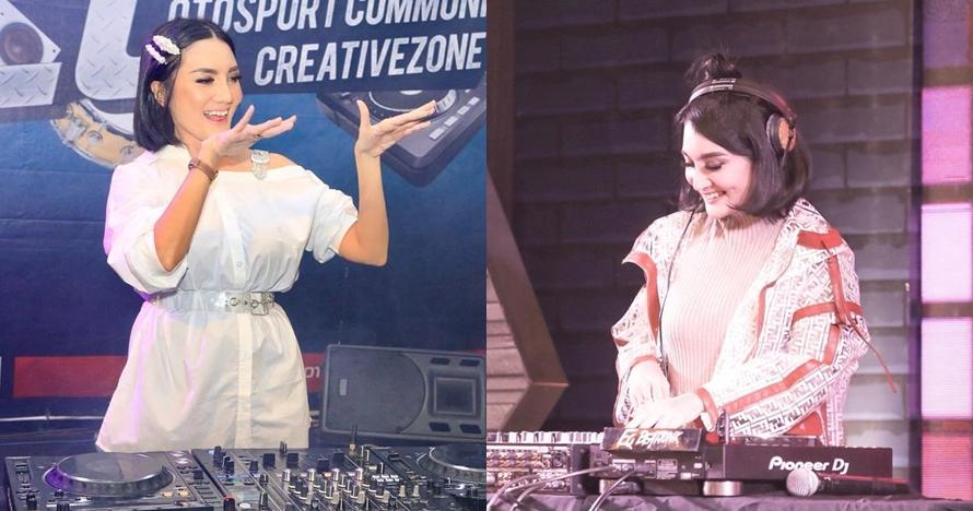 8 Gaya tertutup Kiki Amalia saat nge-DJ ini curi perhatian