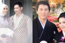Gaya 5 pasangan seleb gelar prewedding pakai kimono, serasi