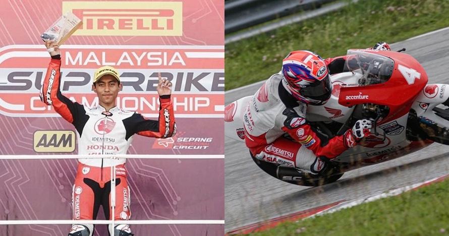 5 Fakta Afridza Munandar, pembalap Indonesia yang crash di Sepang