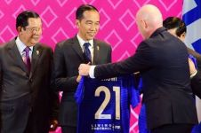 7 Cocoklogi arti nomor 21 jersey Presiden Jokowi di KTT ASEAN