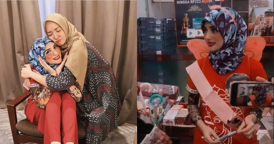 9 Momen seru bridal shower Citra Kirana, diarak jalan-jalan