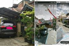 Viral garasi makan jalan, ternyata rumah personel Duo Semangka