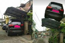 7 Meme lucu kanopi garasi yang makan jalan ini bikin ngakak