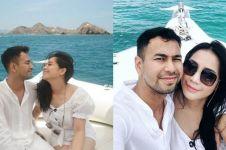 10 Momen Raffi Ahmad & Nagita liburan ke Pulau Komodo, romantis