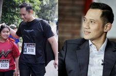 Temani Aira belajar, brewok Agus Yudhoyono bikin gagal fokus