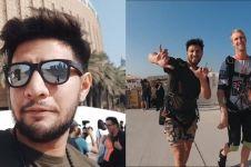7 Potret liburan Ammar Zoni di Dubai, seru jajal sky diving