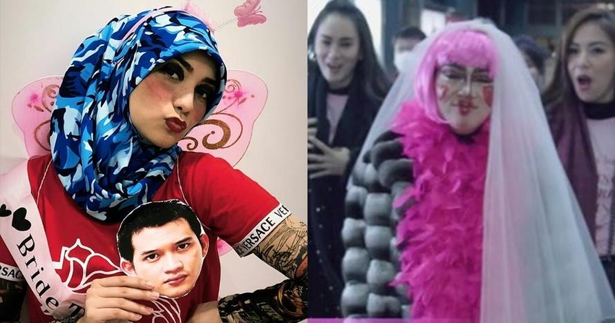 Momen Citra Kirana dan 4 seleb diarak saat bridal shower