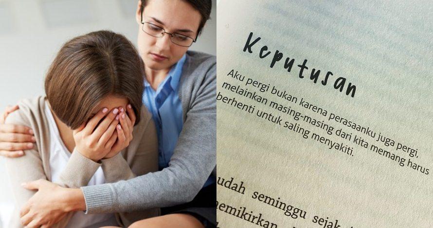 40 Kata-kata cinta sedih, menyentuh hati dan bikin nyesek