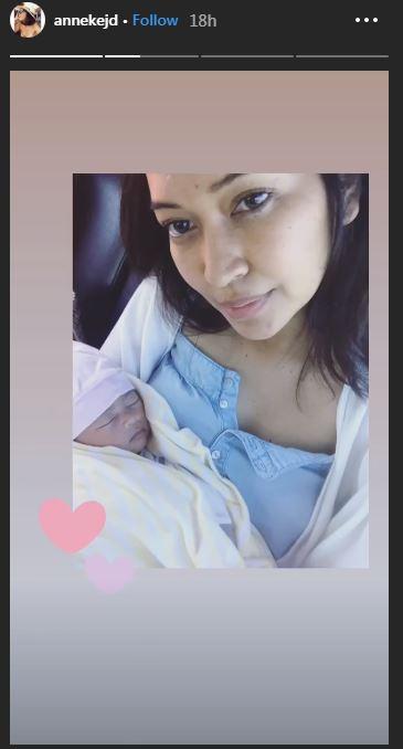 anneke jodi melahirkan © 2019 brilio.net