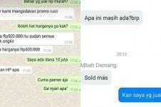 10 Chat penjual dan pembeli online shop ini kocaknya ngeselin