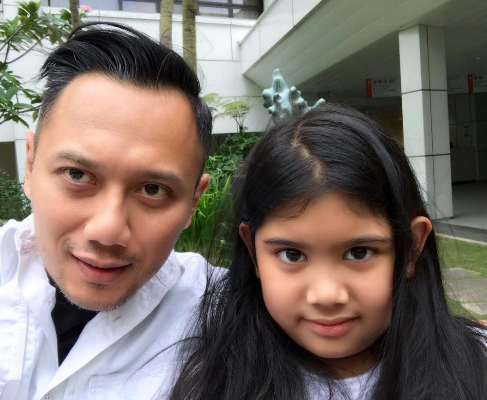 Gaya Agus Yudhoyono dengan brewok Instagram