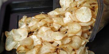 6 Cara membuat keripik singkong, renyah dan gurih