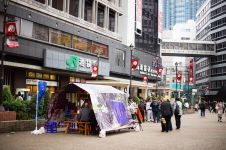 8 Potret angkringan Jogja di jalanan Tokyo ini bikin heboh