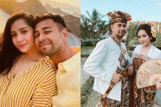 10 Momen Raffi & Nagita pakai baju adat Bali, Gigi curi perhatian