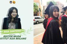 5 Fakta Risa Santoso, rektor termuda berusia 27 tahun