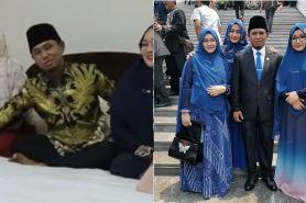 Lora Fadil blak-blakan ungkap posisi tidur bareng 3 istri