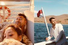 7 Potret kapal mewah dipakai Raffi Ahmad liburan di Labuan Bajo