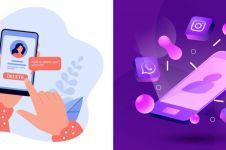 Cara menghapus akun Instagram, Facebook & Whatsapp, mudah dipraktikkan