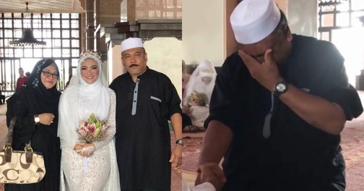 Kisah ayah galak tangisnya pecah di pernikahan putrinya