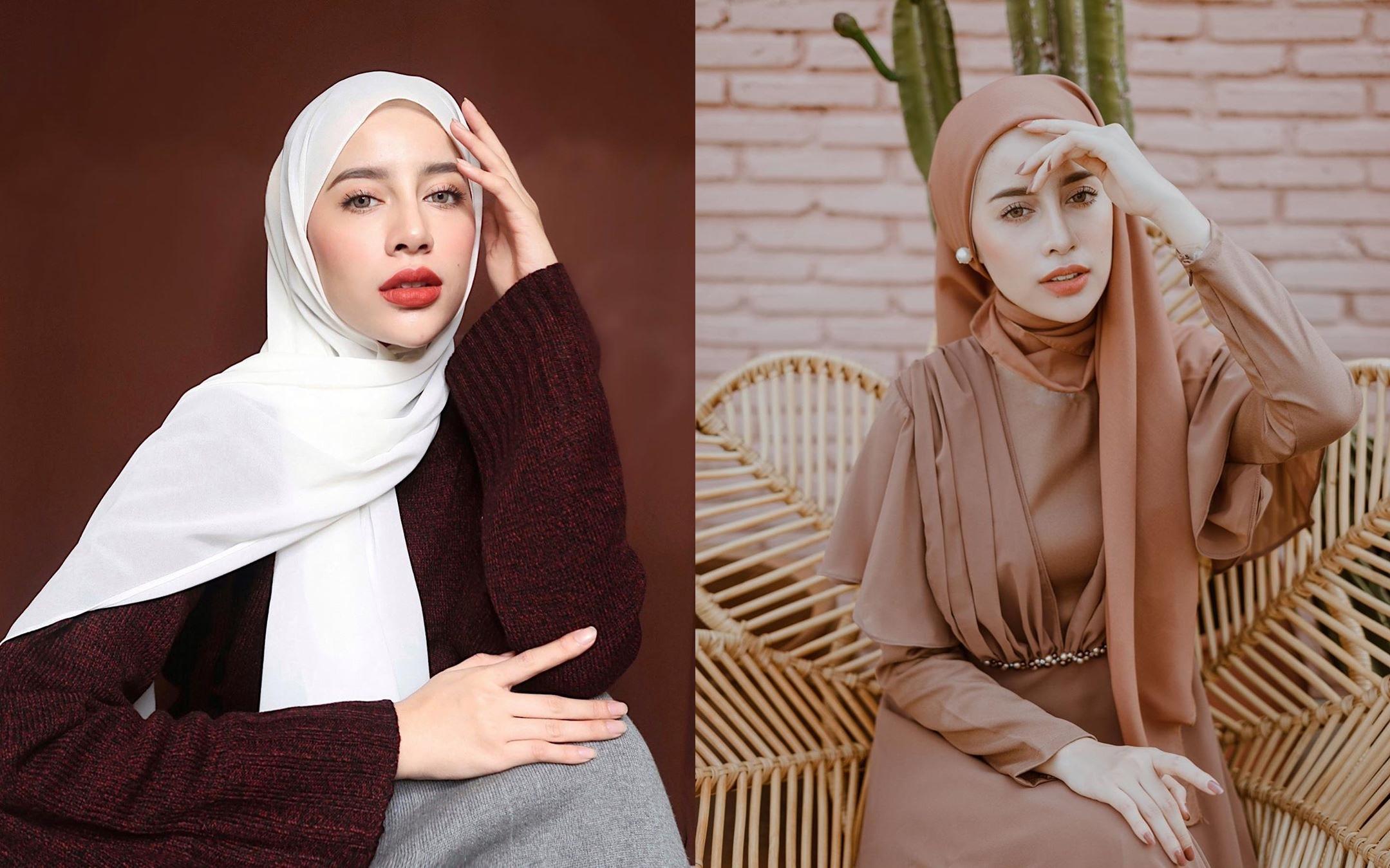 5 Cara memakai jilbab pashmina sesuai bentuk wajah