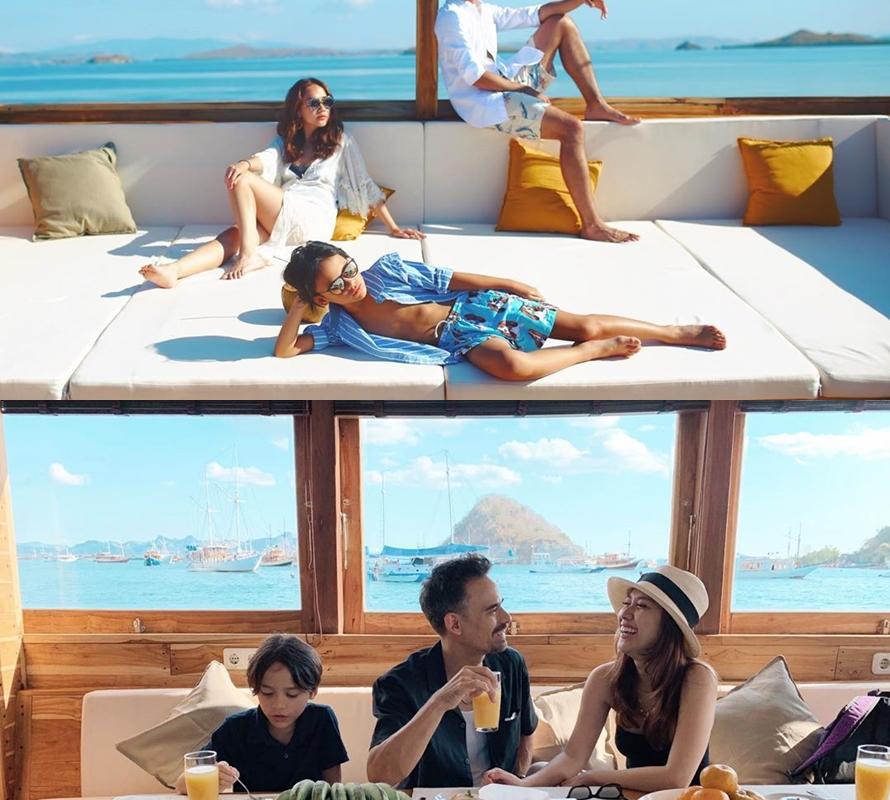 Penampakan kapal sewaan Instagram