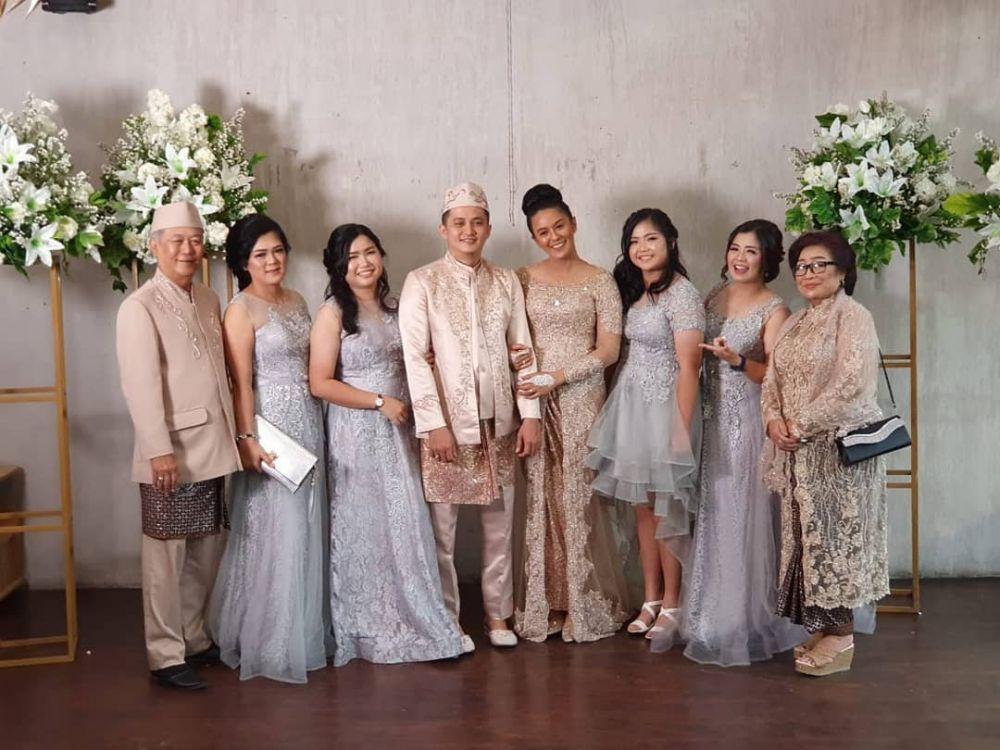 Momen pernikahan Varissa Camelia Instagram