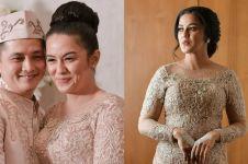 10 Momen pernikahan Varissa Camelia 'Mak Lampir', penuh haru