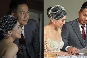 9 Momen pernikahan Delon Thamrin & Aida Noplie, penuh kebahagiaan