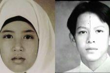 Pas foto 7 penyanyi Indonesia zaman sekolah, manglingi abis