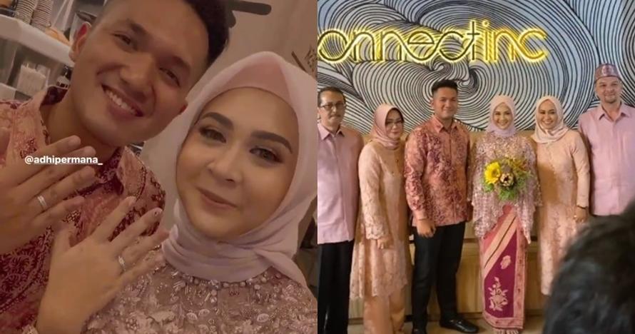 10 Momen pertunangan Kesha Ratuliu & Adhi, mantap nikah muda