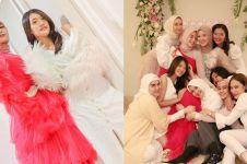 11 Momen bridal shower kedua Citra Kirana, penuh drama