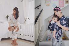 10 Potret rumah Sharena Delon, ruang main anak curi perhatian