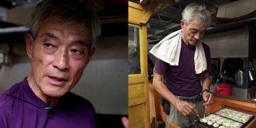 Hada Hiroshi, penjual takoyaki di Solo dengan harga Rp 5 ribu