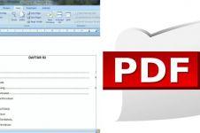 Cara mengubah Word ke PDF secara online dan offline